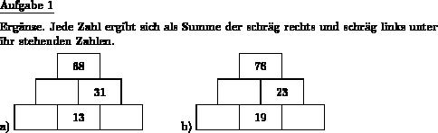 Zahlenmauer plus ergänzen - Individuelle Mathe-Arbeitsblätter bei dw ...
