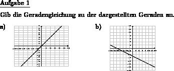 Geradengleichung zu Gerade angeben - Individuelle Mathe ...