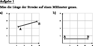 Länge einer Strecke im Koordinatensystem messen - Individuelle Mathe ...