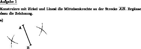 Mittelsenkrechte konstruieren - Individuelle Mathe-Arbeitsblätter ...