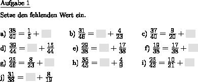 Lernblatter mathe