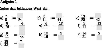 Arbeitsblatt-Vorlage Bruchrechnung 1 - Individuelle Mathe ...